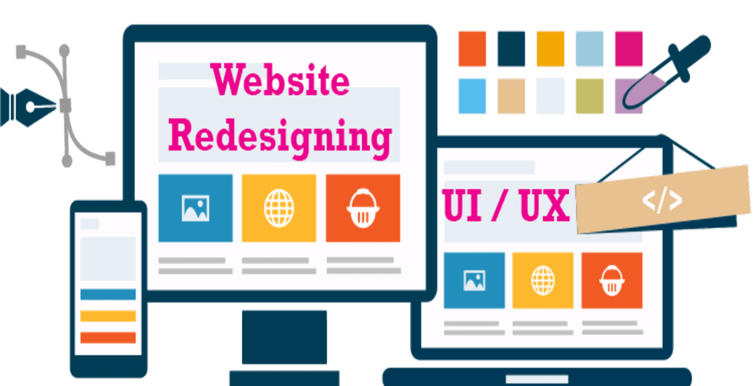 Redesign your website enhance your business